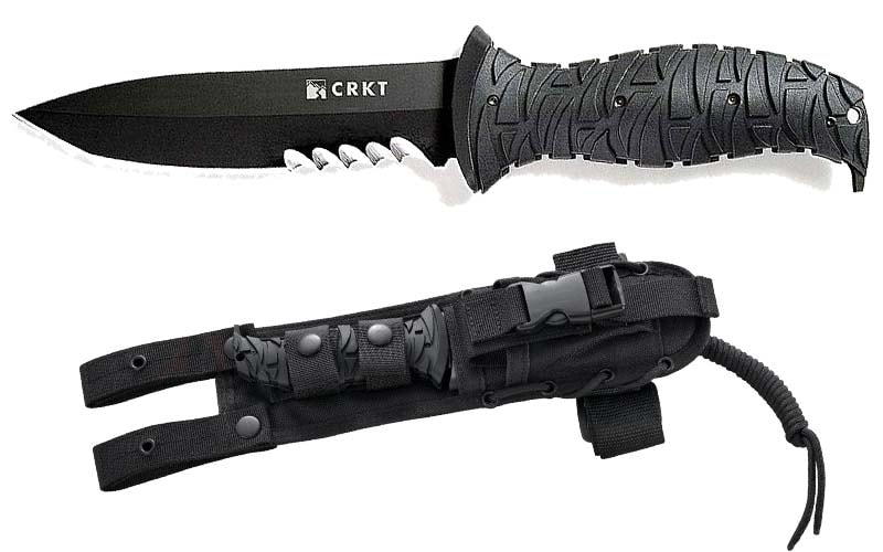 Best Combat Knife in the World - Columbia River Knife and Tool's 2125KV Ultima Fixed Blade Knife