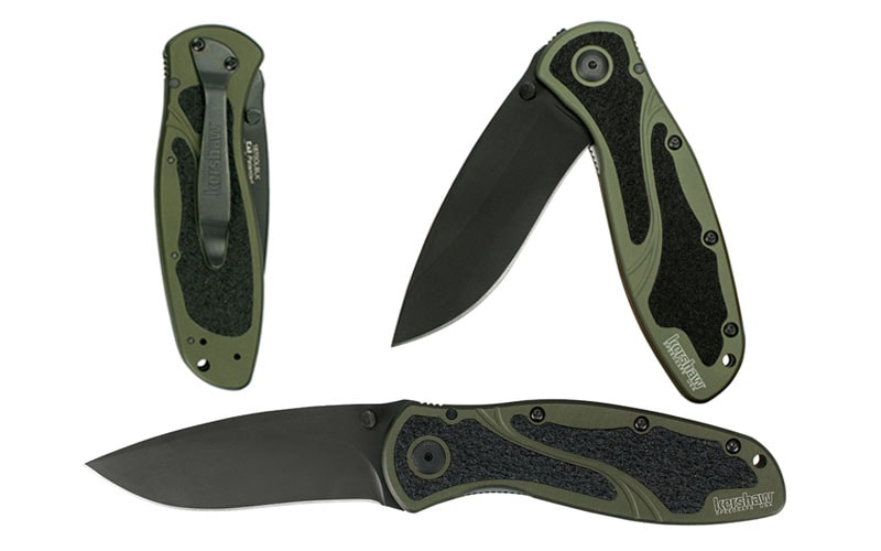 Kershaw Ken Onion Blur Folding Knife - Best Tactical Folding Knife