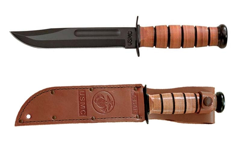 Ka Bar USMC Knife Review