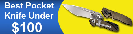 Best Pocket Knife Under 100 Dollars