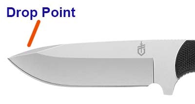 Drop Point Blade Type