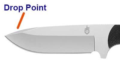 Drop Point Blade