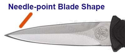 Spear Point Blade Shape