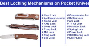 Pocket Knife Locking Mechanisms