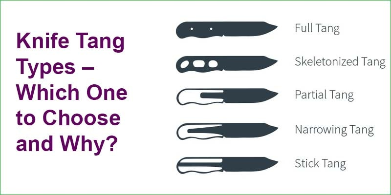 Knife Tang Types