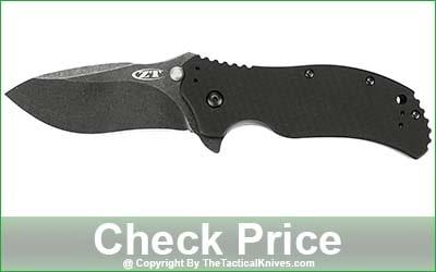 Zero Tolerance 0350BW Folding Knife