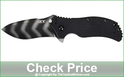 Zero Tolerance 0350TS Tiger-Stripe Folding Knife