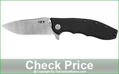 Zero Tolerance 0562CF Hinderer Slicer Folding Knife